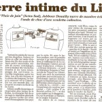 Le Canard enchaîné's review of Douaihy's June Rain