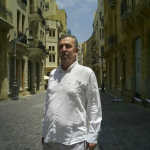 Le Monde des Livres meets with Jabbour Douaihy in Beirut